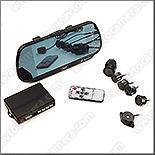 Парктроник с камерой и монитором в зеркале заднего вида – модель CRS-9701