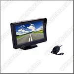 Проводная камера заднего вида ATS-601-C с LCD дисплеем 4,3 дюйма