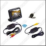 Беспроводная камера заднего вида ATS-601-W с LCD дисплеем 3,5 дюйма